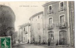 30. GARD // LES MAGES. LE CENTRE DU VILLAGE  //ANIMEE - Other Municipalities