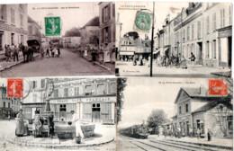 LA FERTE GAUCHER  LOT DE 4 CARTES EN L'ETAT    VOIR LES SCANS - La Ferte Gaucher