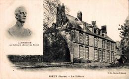51 RIEUX  Le Château - Lamartine Habita Le Château - Altri Comuni