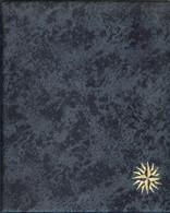 RDV - RELIURE MONNAIES/BILLETS De Couleur BLEUE MOUCHETEE (Format CARAVELLE/LOUIS/HALF PENNY) - Zubehör
