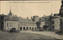 CPA Guérande Loire Atlantique, Château De Lauvergnac - Andere Gemeenten
