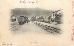 CPA Afrique Algérie Tizi Ouzou La Gare 1909 - Tizi Ouzou