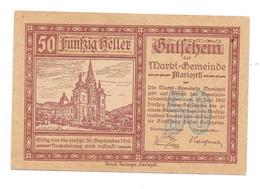 **Austria Notgeld  Mariazell 50 Heller   590/1a - Austria