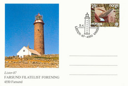 NORWAY CEPT 1987 2,70 Kr. EUROPA Modern Architecture Superb Postal Stationery Pc - Interi Postali