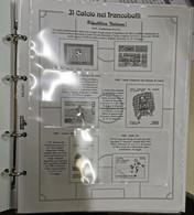 IL CALCIO NEI FRANCOBOLLI - Stamp Boxes