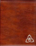 RDV - RELIURE MONNAIES/BILLETS De Couleur Marron (Format CARAVELLE/LOUIS/HALF PENNY) - Materiale