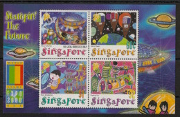 Singapore - 2000 - Bloc Feuillet BF N°Yv. 74 - Dessins D'enfants - Neuf Luxe ** / MNH / Postfrisch - Singapore (1959-...)