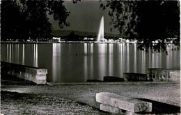 Geneve - La Rade Le Soir (7026) * 10. 9. 1963 - GE Genève