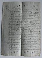 GENT ?? NAPOLEON PAR LA GRACE DE DIEU  - ZIE AFBEELDINGEN  - TE LEZEN - Historical Documents