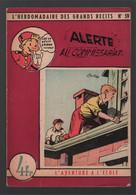 L'hebdomadaire Des Grands Récits (violet) L'aventure à L'école N° 59 Alerte Au Commissariat (Maurice Tillieux) 1949 - Spirou Magazine