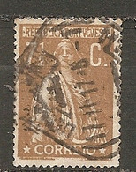 PORT - Yv. N°  213B Dent 15  (o)  7 1/2c  Bistre Cérès Papier Ordinaire  Cote 3 Euro BE - Usado