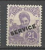 INDOCHINE SERVICE N° 26 NEUF** LUXE  SANS CHARNIERE / MNH - Sonstige