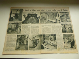 "Origineel Knipsel ( 3652 ) Uit Tijdschrift  "" Le Patriote Illustré ""  1953 : Moulin De Donceel ( Hesbaye ) Waremme Molen - Non Classés"