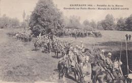 Bataille De La Marne  Cavalerie Au Petit-Morin Marais De Saint-Gond - Guerra 1914-18