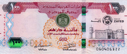 "UNITED ARAB EMIRATES 100 DIRHAMS 2018 COMMEMORATIVE ""ZAYED"" ""free Shipping Via Registered Air Mail"" - United Arab Emirates"