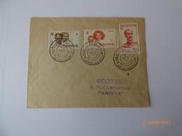 Lettres  Saint Paul Et Amsterdam - ...-1955 Prephilately