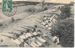 A/38             Militaria     L'infanterie Au Combat     Défence D'un Fort - Manöver