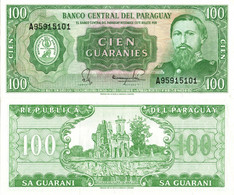 Paraguay / 100 Guaranies / 1982 / P-205(a) / UNC - Paraguay