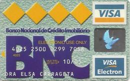 PORTUGAL - BNC - Banco Nacional De Crédito Imobiliário - Credit Cards (Exp. Date Min. 10 Years)