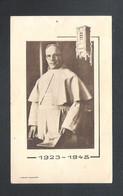 DEVOTIEPRENTJE-ZILVEREN PASTOORS-JUBILEUM -D.J.DELESTRE O.PRAEM GRIMBERGEN 6 JUNI 1948-GOUDEN PROF.1952(2 Scans)(DV 201) - Devotion Images