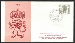 Boudewijn - Elström - OBP-COB 1642 - FDC - 1971-80