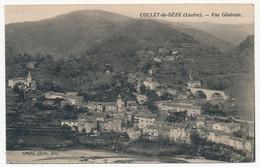 CPA - COLLET-DE-DEZE (Lozère) - Vue Générale - Sonstige Gemeinden