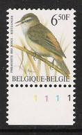 Buzin Nr 2577**   Plaatnr 1   H5 Groene Gom - 1985-.. Vogels (Buzin)