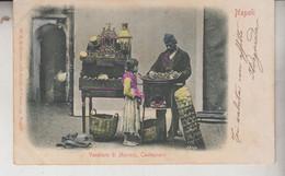 NAPOLI CASTAGNARO  VENDITORE DI MARRONI COSTUMI 1901 - Napoli (Naples)