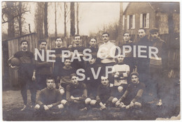 Guéret (23) - Carte-photo - Equipe De Football Du Collège 1912 - Belle Animation - Guéret