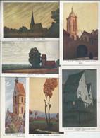 HANSI   Lot De 6 Cartes - Andere Illustrators