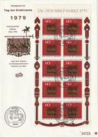 0385-30H / Bundesrepublik Deutschland - 1979 - Mi. 1023 Kleinbogen FDC / € 1.00 A - Blocks & Sheetlets