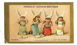 Chromo Testu Massin  TM35-26   - Chocolat Guérin-Boutron - Otros