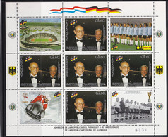 Soccer World Cup 1974 - PARAGUAY - Sheet MNH - 1974 – Alemania Occidental