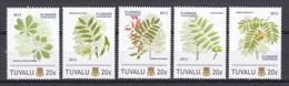 Tuvalu 2012 - MNH - TREES  Set 2 - FLORIADE NETHERLANDS - Alberi
