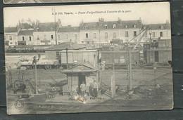 N° 100  -  Tours -  Poste D'aiguilleurs à L'entrée De La Gare     Gap114 - Tours