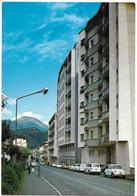 Borgosesia (Vercelli). Viale Duca D'Aosta - Auto, Car, Voitures. - Vercelli