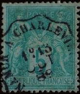 -Sage N°75 Type II  Ob  ( CAD  ) .AMBULANT   1889. - 1876-1898 Sage (Type II)