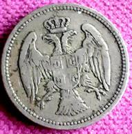 JOEGOSLAVIË/ SERVIË : 20  PARA 1884 H KM 20 HIGH QUALITY !! - Serbia