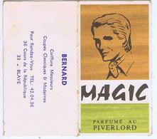 GIRONDE - BLAYE - Calendrier De Poche MAGIC - BERNARD Coiffeur - 1975 - Small : 1971-80