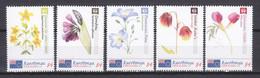 Rarotonga (Cook Islands) MNH Set 3 - FLORIADE 2012 - FLOWERS - Non Classés