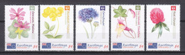 Rarotonga (Cook Islands) MNH Set 4 - FLORIADE 2012 - FLOWERS - Non Classés