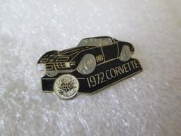 PIN'S   CHEVROLET   CORVETTE    1972 - Corvette