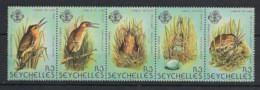 Seychelles - 1982 - N°Yv. 493 à 497 - Oiseaux / Birds - Neuf Luxe ** / MNH / Postfrisch - Non Classificati