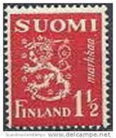 Finland  1932 1.50mk Rood Leeuwentype PF-MNH-NEUF - Neufs