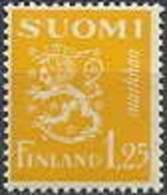 Finland 1932 1.25mk Geel Leeuwentype PF-MNH-NEUF - Neufs
