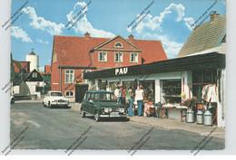 DK 9480 LOKKEN, Supermarkt PAU, RENAULT 4, SAAB - Danimarca