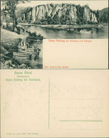 Postcard Karlsbad Karlovy Vary Hans Heiling Künstlerkarte Waldau 1909  - Repubblica Ceca