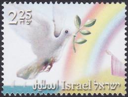 ISRAEL, 2007, Arc-en-ciel   Colombes De La Paix   Olives - Palomas, Tórtolas