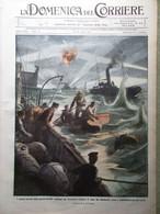 La Domenica Del Corriere 4 Aprile 1915 WW1 Dardanelli Vosgi Przemysl Cattorini - War 1914-18