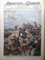 La Domenica Del Corriere 11 Aprile 1915 WW1 Loggia Brescia Palermo Betheny Zonta - War 1914-18